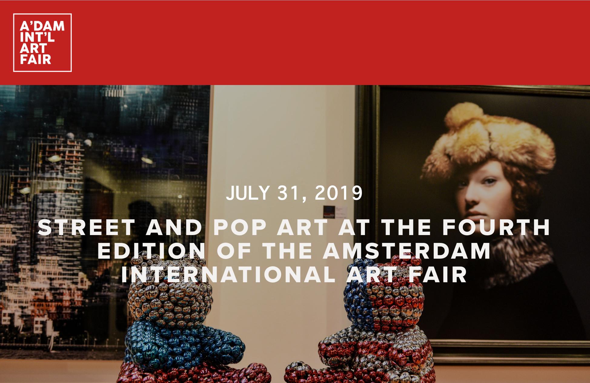 Image of the Adm intl Art fair and logo